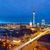 downtown berlin at night stock photo © elxeneize