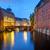 canal at dawn in hamburg stock photo © elxeneize