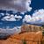 夏 · 雲 · 峡谷 · 公園 · ユタ州 · 米国 - ストックフォト © emattil