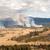 火災 · 公園 · 森林火災 · ワイオミング州 · 米国 · 雲 - ストックフォト © emattil