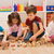 menino · blocos · mão · edifício · casa · diversão - foto stock © emese73