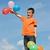renkli · balonlar · mavi · gökyüzü · hava · gökyüzü - stok fotoğraf © emese73