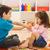 2 · 子供 · 演奏 · 幸せ · 階 · 少女 - ストックフォト © emese73