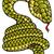 serpent · symbole · 2013 · année · papier · design - photo stock © ensiferrum