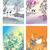 négy · évszak · fa · illusztráció · fehér · virág · fű - stock fotó © ensiferrum