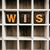 lijst · hout · type · geïsoleerd - stockfoto © enterlinedesign