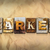 market concept rusted metal type stock photo © enterlinedesign