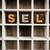 vendido · palavra · velho · impressão · blocos - foto stock © enterlinedesign