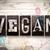 vegan · tipo · palavra · escrito - foto stock © enterlinedesign