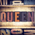 queen concept letterpress type stock photo © enterlinedesign