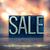 sale concept metal letterpress type stock photo © enterlinedesign