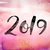 acuarela · año · nuevo · número · aislado · blanco · papel - foto stock © enterlinedesign