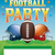 americano · campo · de · fútbol · pelota · cascos · ilustración · fútbol - foto stock © enterlinedesign