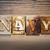 navy concept letterpress theme stock photo © enterlinedesign