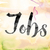 jobs colorful watercolor and ink word art stock photo © enterlinedesign