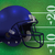 american football helmet on field illustration stock photo © enterlinedesign
