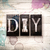 diy concept metal letterpress type stock photo © enterlinedesign