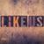 like us concept wooden letterpress type stock photo © enterlinedesign