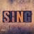 音楽 · タイプ · 言葉 · 書かれた · ヴィンテージ - ストックフォト © enterlinedesign