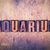 aquarius theme letterpress word on wood background stock photo © enterlinedesign