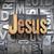 Иисус · написанный · Vintage · тип · дизайна - Сток-фото © enterlinedesign