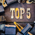 top 5 concept rusty type stock photo © enterlinedesign