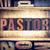 pastor concept letterpress type stock photo © enterlinedesign