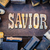 savior concept rusty type stock photo © enterlinedesign