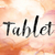 tablet colorful watercolor and ink word art stock photo © enterlinedesign