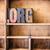 woord · type · geïsoleerd · vintage · hout - stockfoto © enterlinedesign