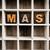 bidden · houten · type · woord · geschreven - stockfoto © enterlinedesign