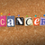 cancer pinned paper concept illustration stock photo © enterlinedesign