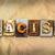 gelijkheid · woord · geschreven · vintage · type - stockfoto © enterlinedesign