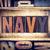 navy concept letterpress type stock photo © enterlinedesign