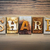 share concept letterpress theme stock photo © enterlinedesign