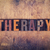 therapy concept wooden letterpress type stock photo © enterlinedesign