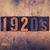 1920 · type · woord · geschreven · vintage - stockfoto © enterlinedesign