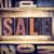 sale concept letterpress type stock photo © enterlinedesign