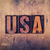 usa concept wooden letterpress type stock photo © enterlinedesign