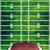 ヴィンテージ · アメリカン · サッカー · ボール · フィールド · フットボールの競技場 - ストックフォト © enterlinedesign