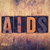 aids concept wooden letterpress type stock photo © enterlinedesign