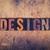 design concept wooden letterpress type stock photo © enterlinedesign