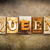 queen concept letterpress leather theme stock photo © enterlinedesign