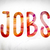 jobs concept watercolor word art stock photo © enterlinedesign