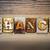 chance concept letterpress theme stock photo © enterlinedesign