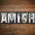 amish concept metal letterpress type stock photo © enterlinedesign