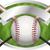 kij · baseballowy · godło · ilustracja · banner · pokój · skopiować - zdjęcia stock © enterlinedesign