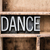 dance vintage letterpress type in drawer stock photo © enterlinedesign