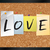liefde · woord · gekleurd · deeltjes · eps · 10 - stockfoto © enterlinedesign