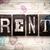 affitto · metal · tipo · parola · scritto - foto d'archivio © enterlinedesign